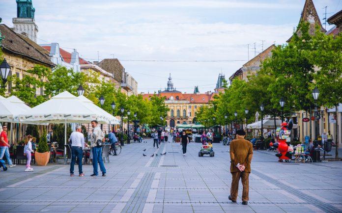 Sombor turizam glavna ulica