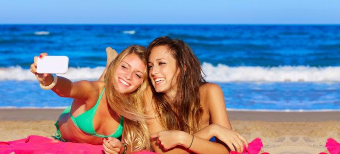 Selfi na plazi