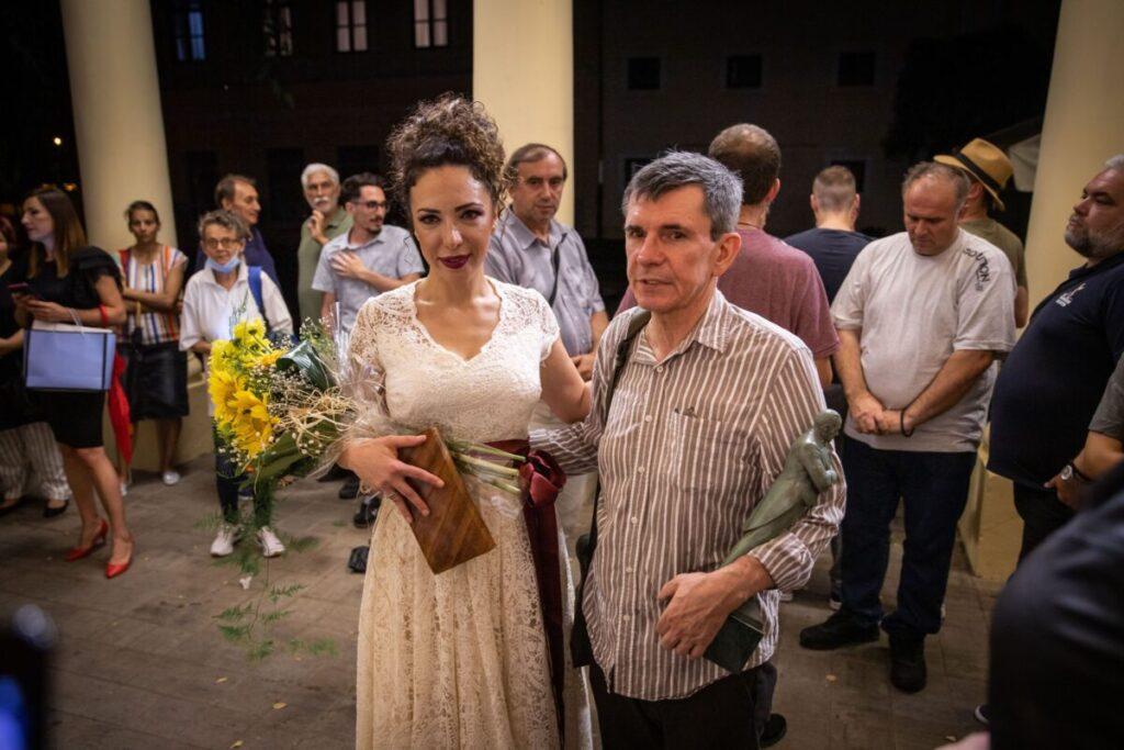 Vesna Sasic i Slavko Stimac_Somborski filmski festival
