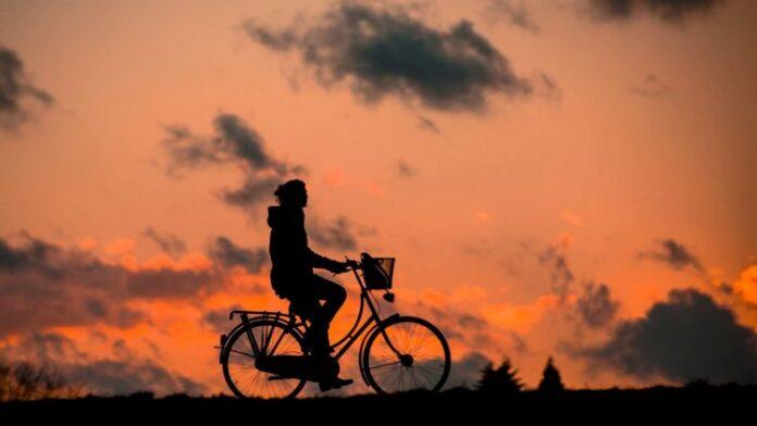 silhouette bike