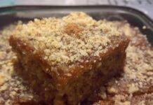 Starinski recept za kolač sa grizom i jabukama